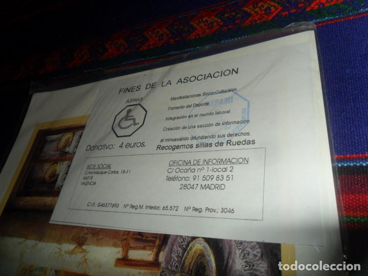 Juegos de mesa: PRECINTADO, PARCHÍS COMPLETO ASPAMI. EN CARTULINA. PRECIOSO Y RARO. - Foto 3 - 162527618