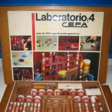Juegos de mesa: ANTIGUO JUEGO DE LABORATORIO 4 DE CEFA. Lote 162637014