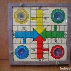 Juegos de mesa: ANTIGUO TABLERO DE PARCHIS Y OCA. Lote 162637550