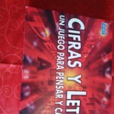 Juegos de mesa: JUEGO CIFRAS Y LETRAS. Lote 162698512