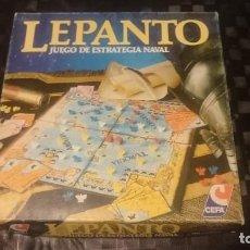 Juegos de mesa: LEPANTO CEFA COMPLETO BATALLA STANDARD MUY CUIDADO . Lote 162982590