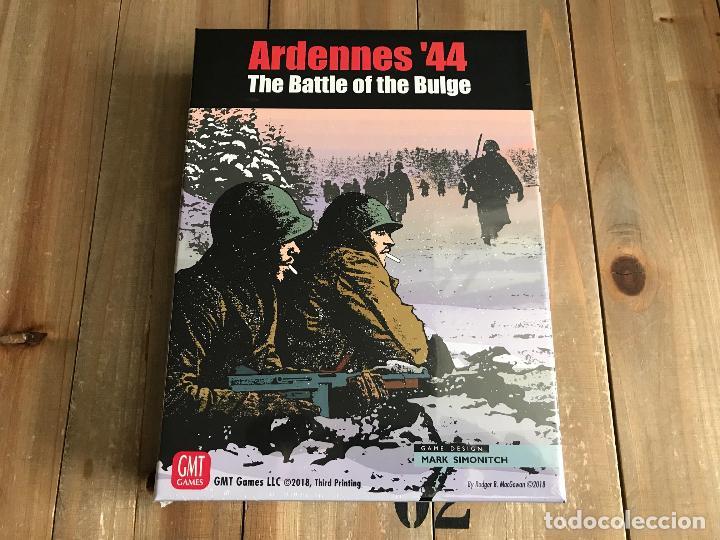 JUEGO WARGAME ARDENNES 44 THE BATTLE OF THE BULGE - THIRD PRINTING - GMT - WWII - PRECINTADO (Juguetes - Juegos - Juegos de Mesa)