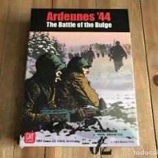 Juegos de mesa: JUEGO WARGAME ARDENNES 44 THE BATTLE OF THE BULGE - THIRD PRINTING - GMT - WWII - PRECINTADO . Lote 162983746