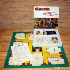 Juegos de mesa: ANTIGUO JUEGO CLUEDO DE BORRAS - COMPLETO Y CON INSTRUCCIONES - CAJA PEQUEÑA. Lote 163414630