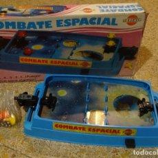 Juegos de mesa: JUEGO COMBATE ESPACIAL DE BREKAR . AÑOS 70S/80S COMO NUEVO Y COMPLETO. Lote 163534010