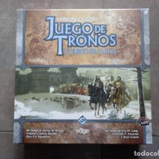Juegos de mesa: JUEGO CARTAS JUEGO DE TRONOS. NUEVO PRECINTADO EN SU CAJA ORIGINAL. Lote 163543578