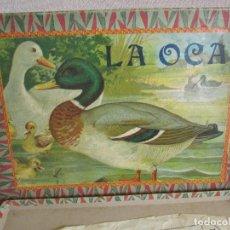 Jeux de table: ANTIGUO JUEGO LA OCA . Lote 163554402
