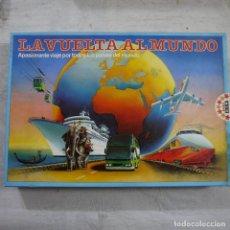 Juegos de mesa: LA VUELTA AL MUNDO - EDUCA - 1987 - COMPLETO Y EL INTERIOR PRECINTADO. Lote 163600806