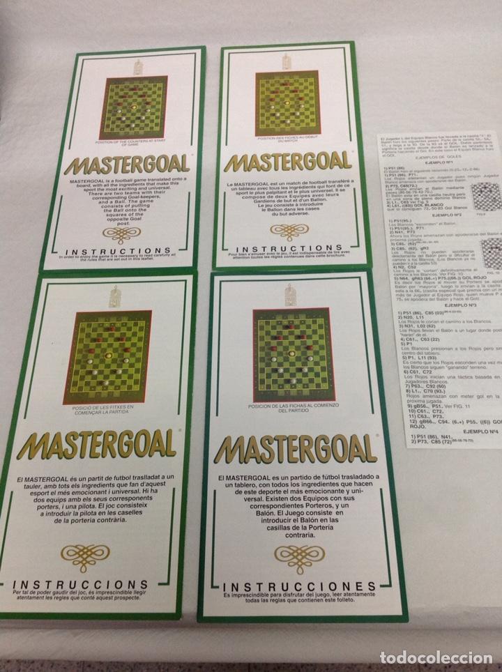 Juegos de mesa: Mastergoal - Foto 5 - 163626026