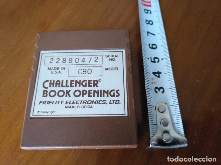 Juegos de mesa: CARTUCHO AJEDREZ FIDELITY CB0 CHALLENGER BOOK OPENINGS CHESS CARTRIDGE FIDELITY ELECTRONICS - Foto 2 - 163779666