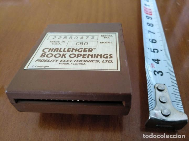 Juegos de mesa: CARTUCHO AJEDREZ FIDELITY CB0 CHALLENGER BOOK OPENINGS CHESS CARTRIDGE FIDELITY ELECTRONICS - Foto 4 - 163779666