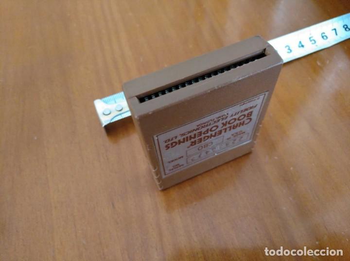 Juegos de mesa: CARTUCHO AJEDREZ FIDELITY CB0 CHALLENGER BOOK OPENINGS CHESS CARTRIDGE FIDELITY ELECTRONICS - Foto 9 - 163779666