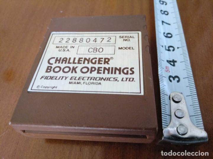 Juegos de mesa: CARTUCHO AJEDREZ FIDELITY CB0 CHALLENGER BOOK OPENINGS CHESS CARTRIDGE FIDELITY ELECTRONICS - Foto 13 - 163779666