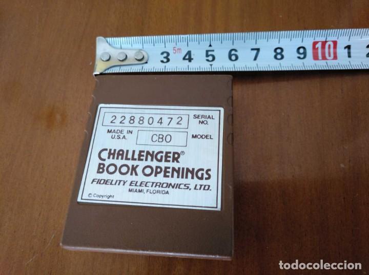 Juegos de mesa: CARTUCHO AJEDREZ FIDELITY CB0 CHALLENGER BOOK OPENINGS CHESS CARTRIDGE FIDELITY ELECTRONICS - Foto 17 - 163779666