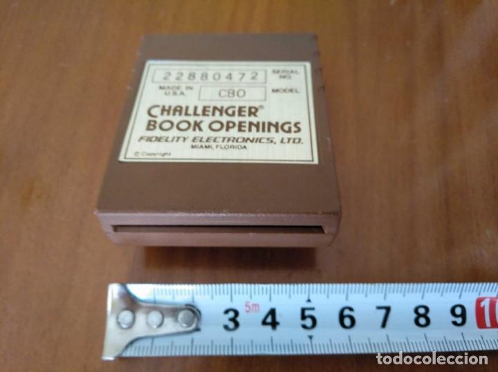 Juegos de mesa: CARTUCHO AJEDREZ FIDELITY CB0 CHALLENGER BOOK OPENINGS CHESS CARTRIDGE FIDELITY ELECTRONICS - Foto 23 - 163779666