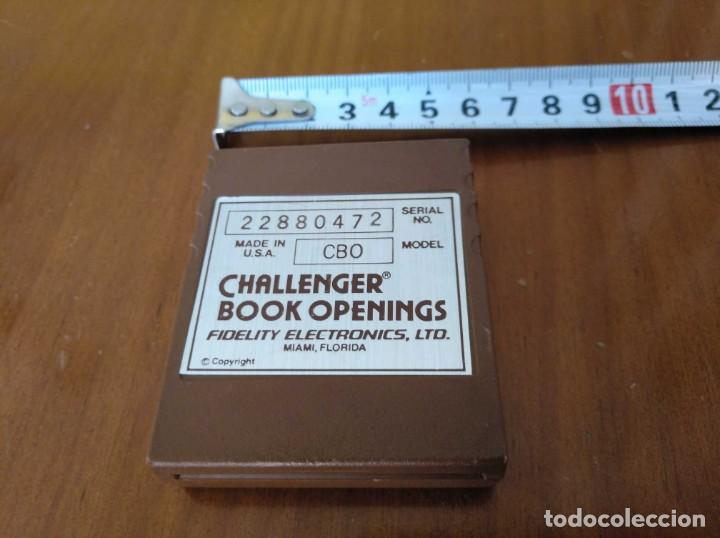 Juegos de mesa: CARTUCHO AJEDREZ FIDELITY CB0 CHALLENGER BOOK OPENINGS CHESS CARTRIDGE FIDELITY ELECTRONICS - Foto 26 - 163779666