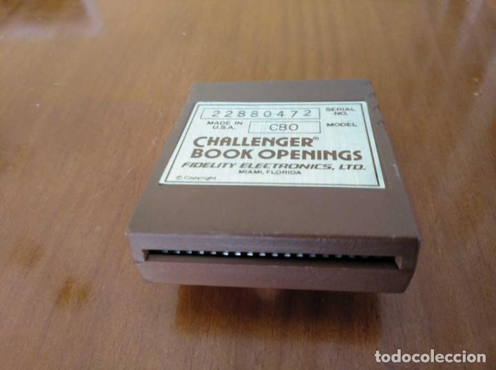 Juegos de mesa: CARTUCHO AJEDREZ FIDELITY CB0 CHALLENGER BOOK OPENINGS CHESS CARTRIDGE FIDELITY ELECTRONICS - Foto 36 - 163779666