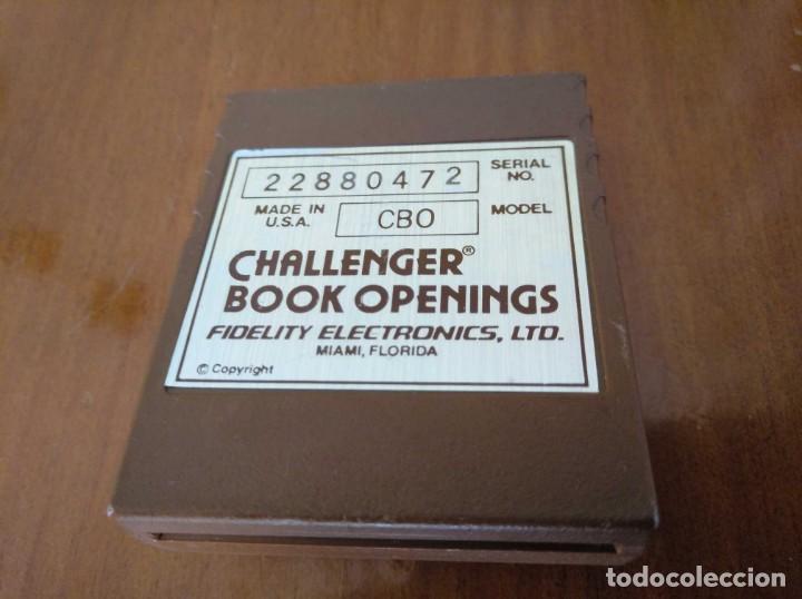 Juegos de mesa: CARTUCHO AJEDREZ FIDELITY CB0 CHALLENGER BOOK OPENINGS CHESS CARTRIDGE FIDELITY ELECTRONICS - Foto 37 - 163779666