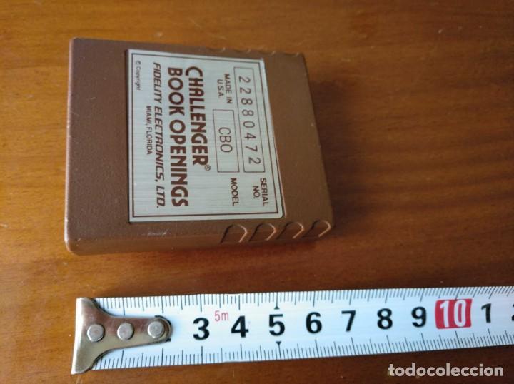 Juegos de mesa: CARTUCHO AJEDREZ FIDELITY CB0 CHALLENGER BOOK OPENINGS CHESS CARTRIDGE FIDELITY ELECTRONICS - Foto 39 - 163779666