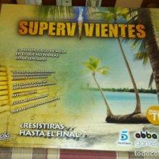 Juegos de mesa: JUEGO DE MESA SUPERVIVIENTES. Lote 163783106