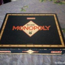 Juegos de mesa: MONOPOLY DELUXE,WADDINGTONS 1986.. Lote 164662566