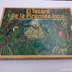 Juegos de mesa: JUEGO DE MESA EDUCA/EL TESORO DE LA PIRAMIDE INCA.. Lote 164692334