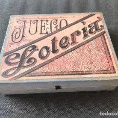 Juegos de mesa: JUEGO DE LOTERÍA. Lote 164894240