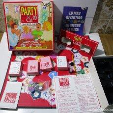 Juegos de mesa: JUEGO MESA PARTY & CO FAMILIAR 1996 DISET, COMPLETO. Lote 164919266