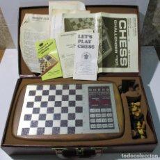 Juegos de mesa: AJEDREZ ELECTRONICO CHESS CHALLENGER 10 FIDELITY ELECTRONICS AÑO 1978. Lote 164922862