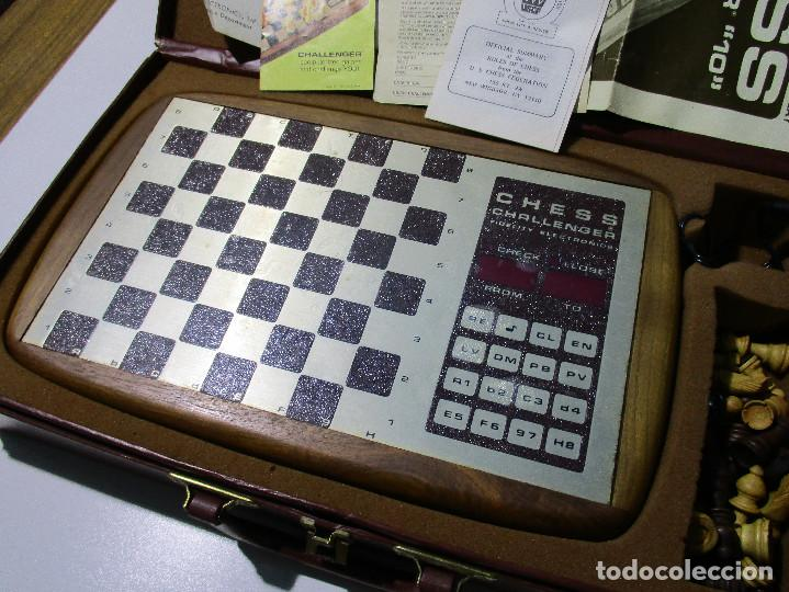 Juegos de mesa: AJEDREZ ELECTRONICO CHESS CHALLENGER 10 FIDELITY ELECTRONICS AÑO 1978 - Foto 2 - 164922862