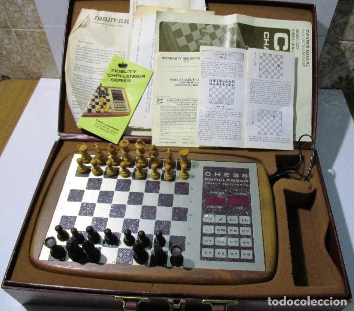 Juegos de mesa: AJEDREZ ELECTRONICO CHESS CHALLENGER 10 FIDELITY ELECTRONICS AÑO 1978 - Foto 8 - 164922862