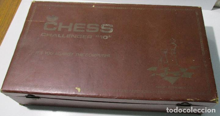 Juegos de mesa: AJEDREZ ELECTRONICO CHESS CHALLENGER 10 FIDELITY ELECTRONICS AÑO 1978 - Foto 12 - 164922862