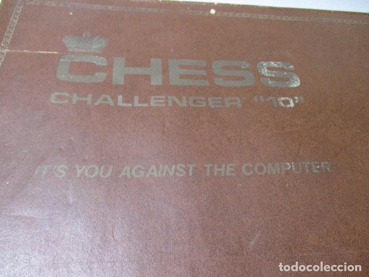 Juegos de mesa: AJEDREZ ELECTRONICO CHESS CHALLENGER 10 FIDELITY ELECTRONICS AÑO 1978 - Foto 13 - 164922862