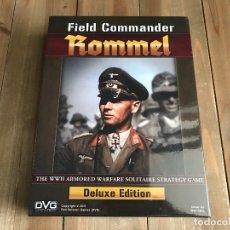 Juegos de mesa: JUEGO WARGAME - FIELD COMMANDER ROMMEL - DELUXE - DVG - PRECINTADO - WWII - SOLITARIO. Lote 165063102