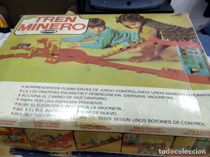 ANTIGUO JUEGO TREN MINERO DE GEYPER (Juguetes - Juegos - Juegos de Mesa)