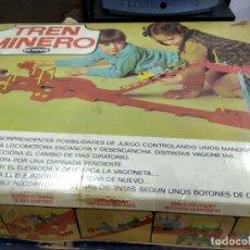 Juegos de mesa: ANTIGUO JUEGO TREN MINERO DE GEYPER. Lote 177089024