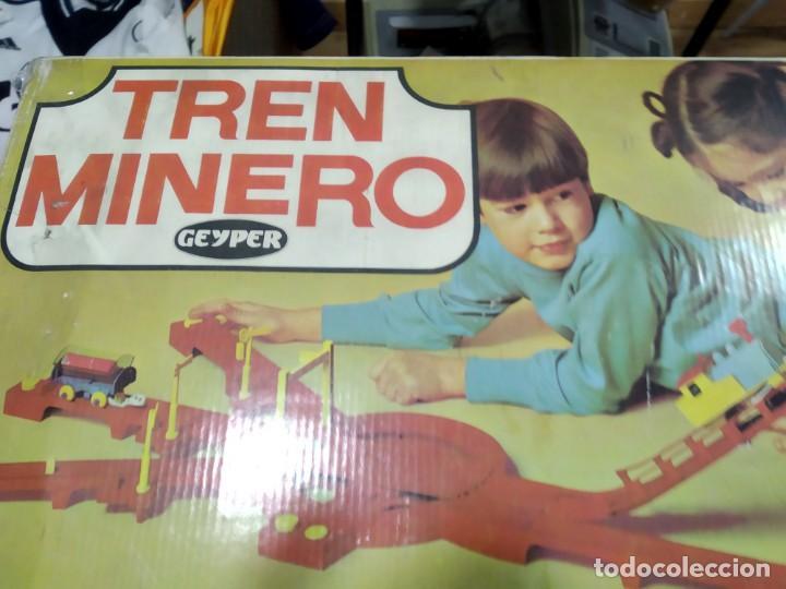 Juegos de mesa: ANTIGUO JUEGO TREN MINERO DE GEYPER - Foto 2 - 177089024