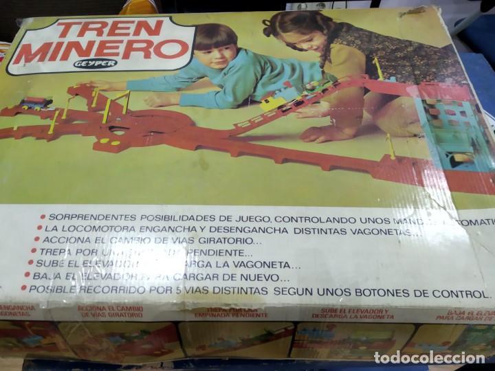 Juegos de mesa: ANTIGUO JUEGO TREN MINERO DE GEYPER - Foto 3 - 177089024