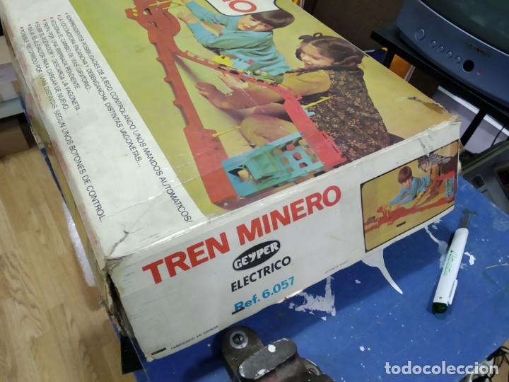 Juegos de mesa: ANTIGUO JUEGO TREN MINERO DE GEYPER - Foto 4 - 177089024