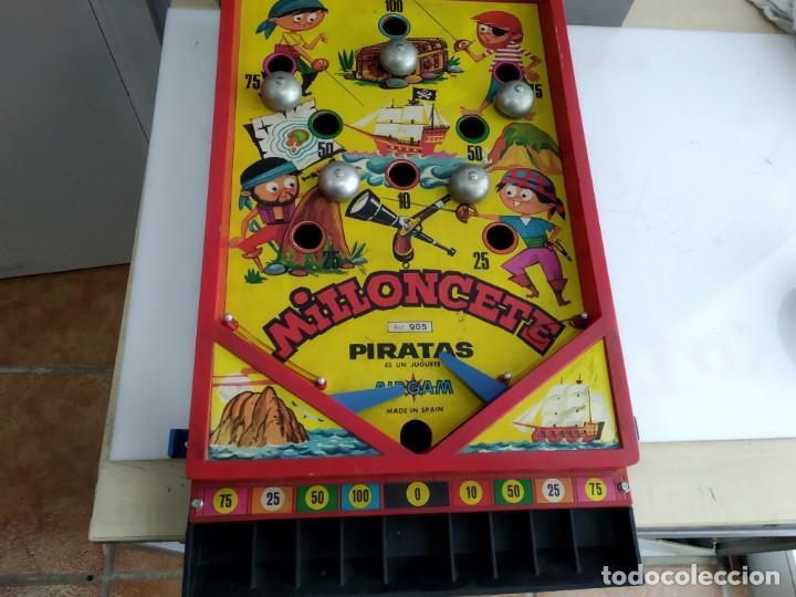ANTIGUO JUEGO MILLONCETE DE AIRGAM PIRATAZS (Juguetes - Juegos - Juegos de Mesa)