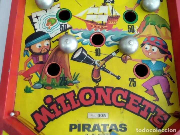 Juegos de mesa: ANTIGUO JUEGO MILLONCETE DE AIRGAM PIRATAZS - Foto 3 - 234443080