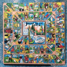 Juegos de mesa: TABLERO CAYRO PARCHÍS JUEGO DE LA OCA. Lote 165196134