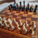 Juegos de mesa: JUEGOS DE MESA DE AJEDREZ Y BACKGAMMON ANTIGUOS. Lote 165238178