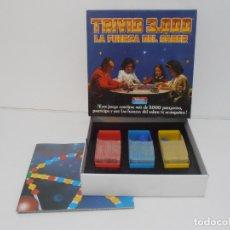 Juegos de mesa: JUEGO DE MESA, TRIVIO 3000 LA FUERZA DEL SABER, FALOMIR JUEGOS. Lote 165524198