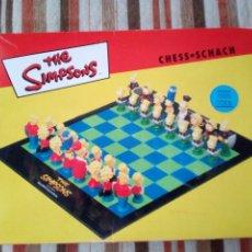 Juegos de mesa: -THE SIMPSONS-AJEDREZ-100% COOL-1997-CENTURY FOX FILM. Lote 165641066