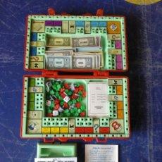 Juegos de mesa: MONOPOLI DE VIAJE ** EN MALETIN MUY PRACTICO Y COMPLETO. Lote 165713766