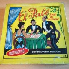Juegos de mesa: JUEGO EL PALÉ ANTIGUO, COMPLETO.. Lote 165795350