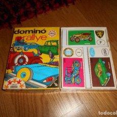 Juegos de mesa: JUEGO DE MESA DOMINO RALLYE DE EDUCA AÑOS 60-70. Lote 166133198