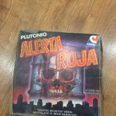 Juegos de mesa: JUEGO DE MESA ALERTA ROJA CEFA AÑOS 80. Lote 166328826