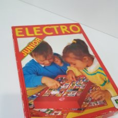 Juegos de mesa: ELECTRO JUNIOR AÑO 1982 / ESTE MODELO ES MUY RARO / INCOMPLETO. Lote 166334121